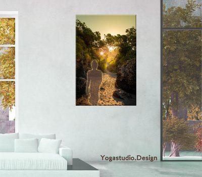 Wanddeko Fotoprodukt Buddha
